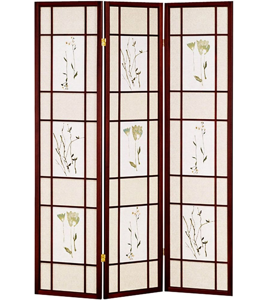 Create Privacy Or Simply Decorate Any Room In Your Household With This  Beautiful Cherry Finished