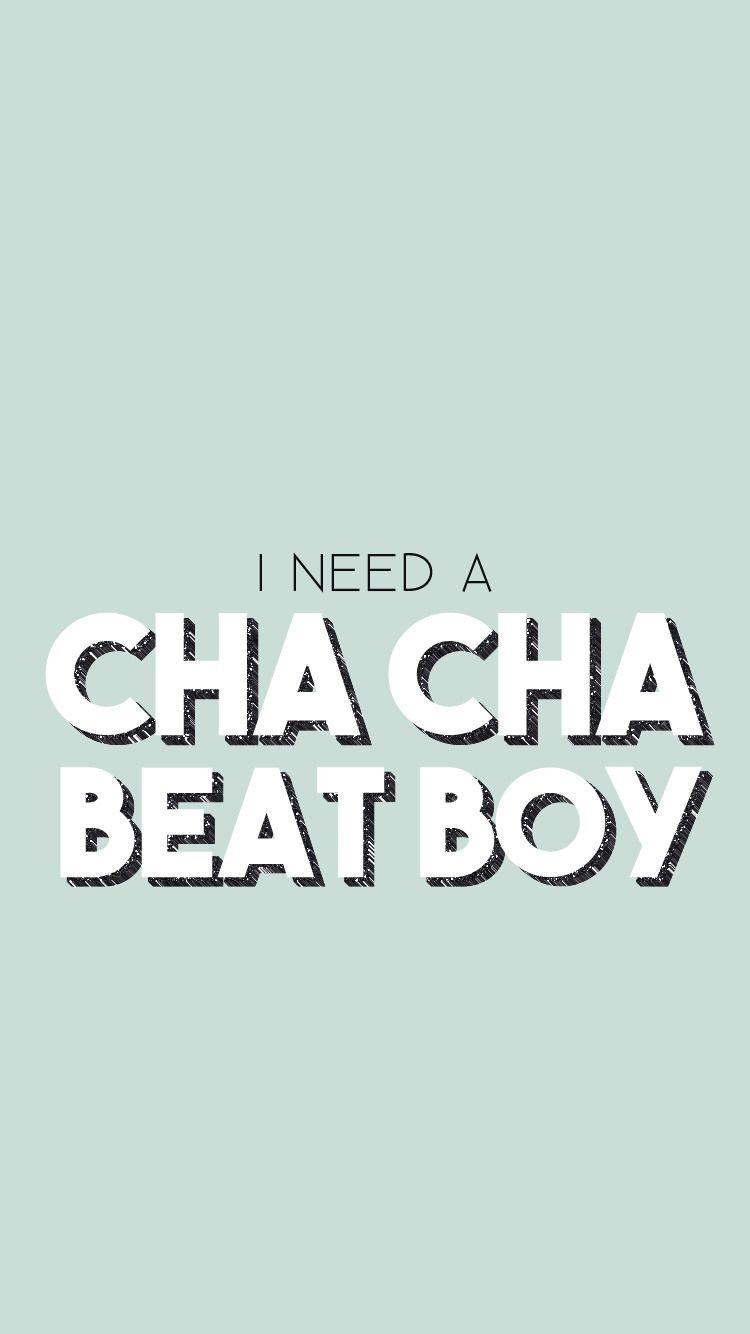 I Need A Cha Cha Beat Boy Kpop Lockscreen Wallpaper Jay
