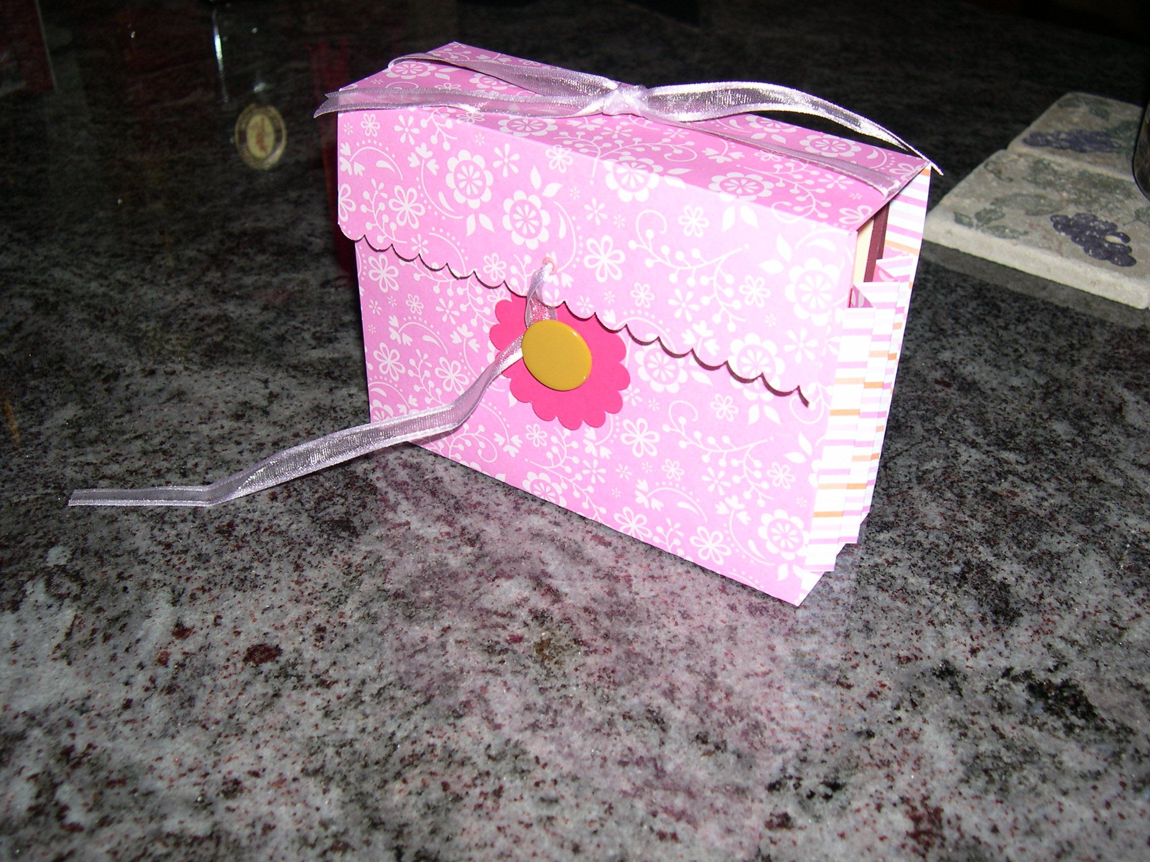 I made this card box for my friends birthday and made her several i made this card box for my friends birthday and made her several greeting cards to go inside she is always asking me to make her cards instead of buying m4hsunfo