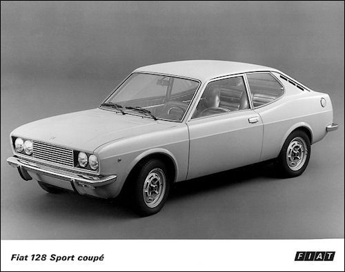 1971 Fiat 128 Coupe A Seriousness At The Photography Treasure