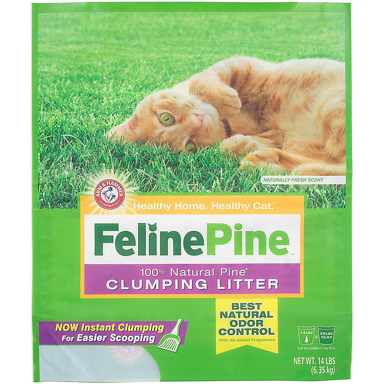 Feline Pine Original Litter; Chemical Free and Safe for