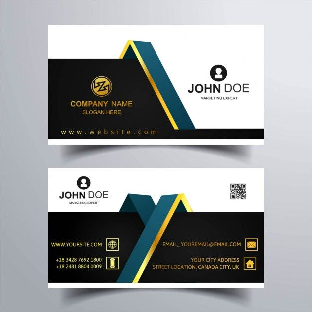 Check out Simple Minimal Business Card by Arslan on Creative - visiting cards