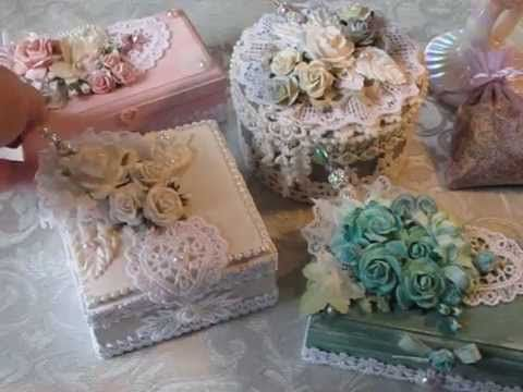 shabby chic altered box project share 1 shabby chic craft pinterest shabby box and craft. Black Bedroom Furniture Sets. Home Design Ideas
