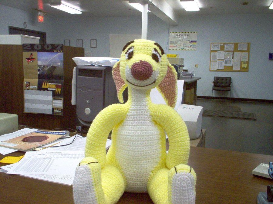 Free Tigger Amigurumi Pattern : Free crochet pattern for rabbit from winnie the pooh click on