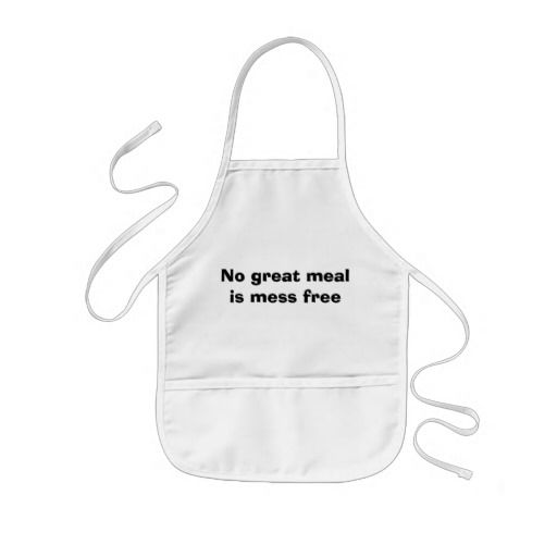 Personalised Children/'s Cooking Apron Bib with your first Name