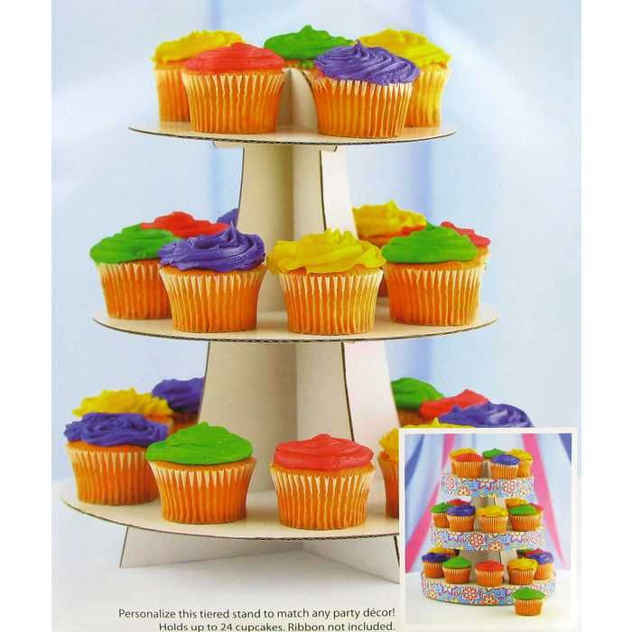 White Cupcake Stand Cardboard Cupcake Stand Cupcake Stand