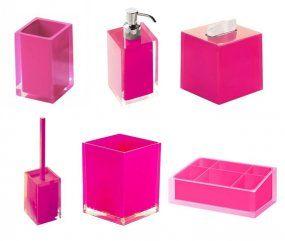 Alfa Img Showing Pink Bath Accessories