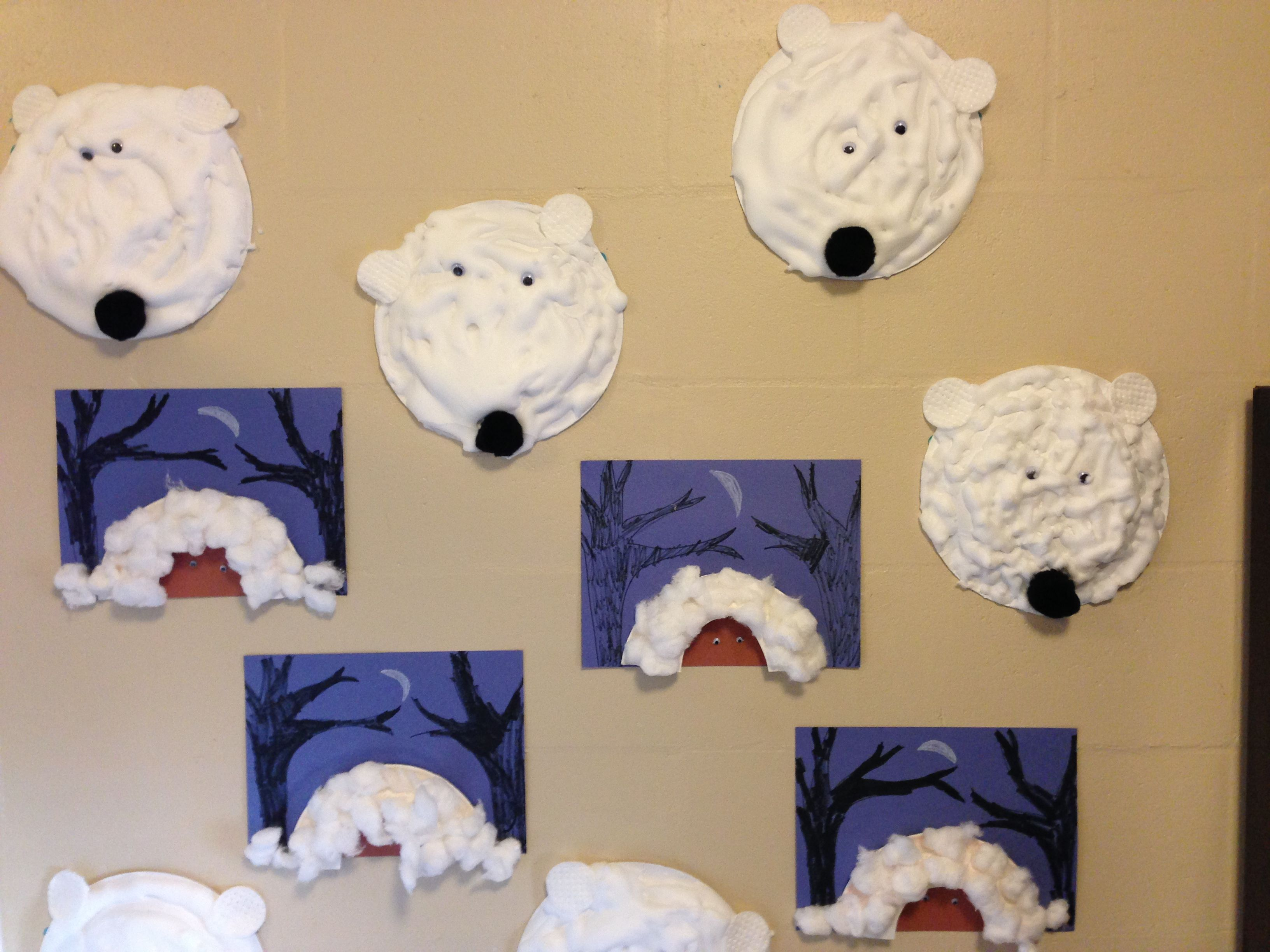 pinterest winter preschool Winter animals theme