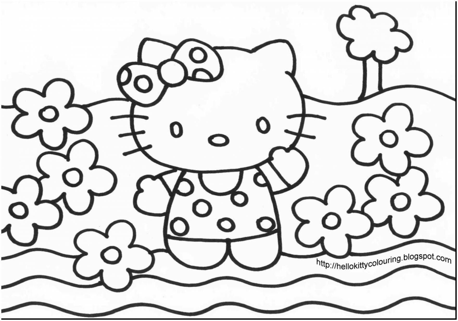 Hello Kitty Coloring Book Beautiful Lovely Free Coloring Pages Hello Kitty Hello Kitty Coloring Hello Kitty Colouring Pages Kitty Coloring