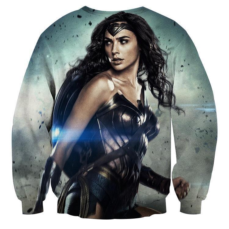 Official Wonder Woman Sword T-Shirt DC Comics S M L Gal Gadot