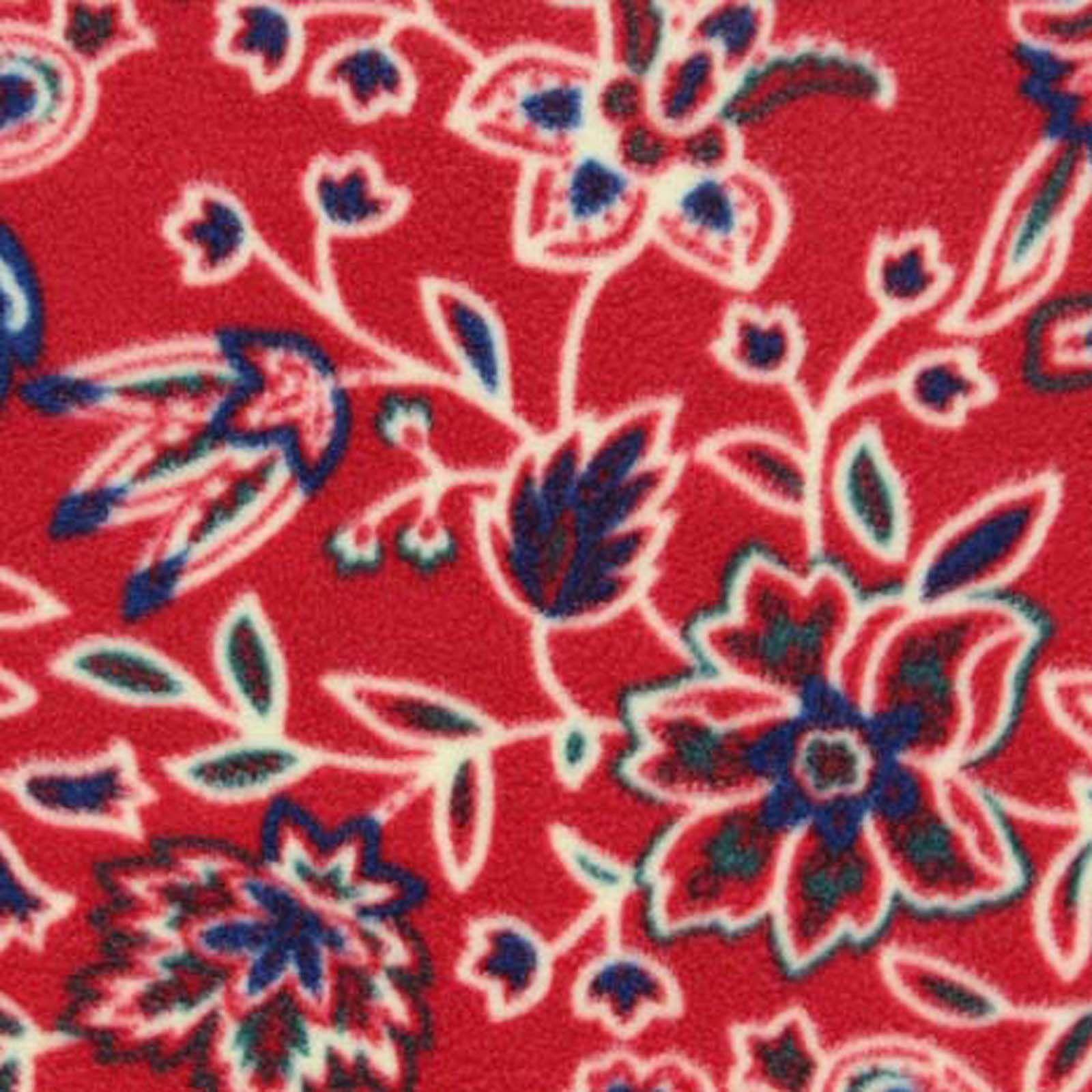 Antipill fleece fabric southwest floral products pinterest
