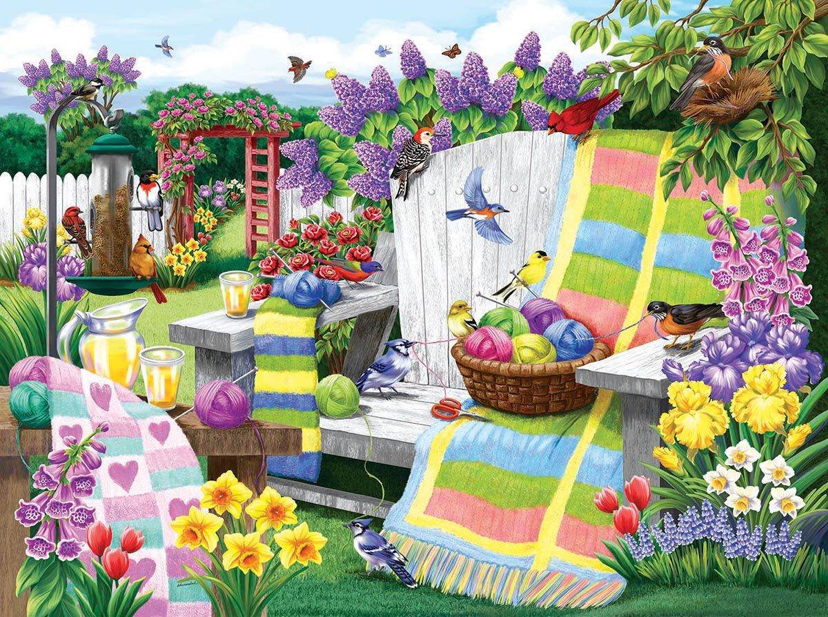 The Many Colors of Spring Jigsaw Puzzle | PuzzleWarehouse.com