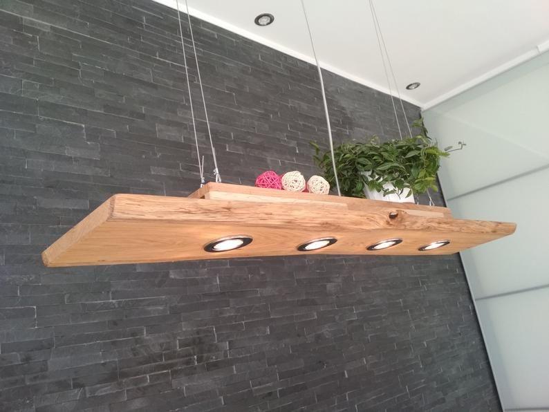Ceiling Lamp Wood Hanging Lamp Pendant Lamp Pendant Lamp Rustic Led Vintage Lamp Oak Solid 50 80 100 120 150 200 Cm Gu10 In 2020 Rustic Lighting Wood Lamps Decoration Piece