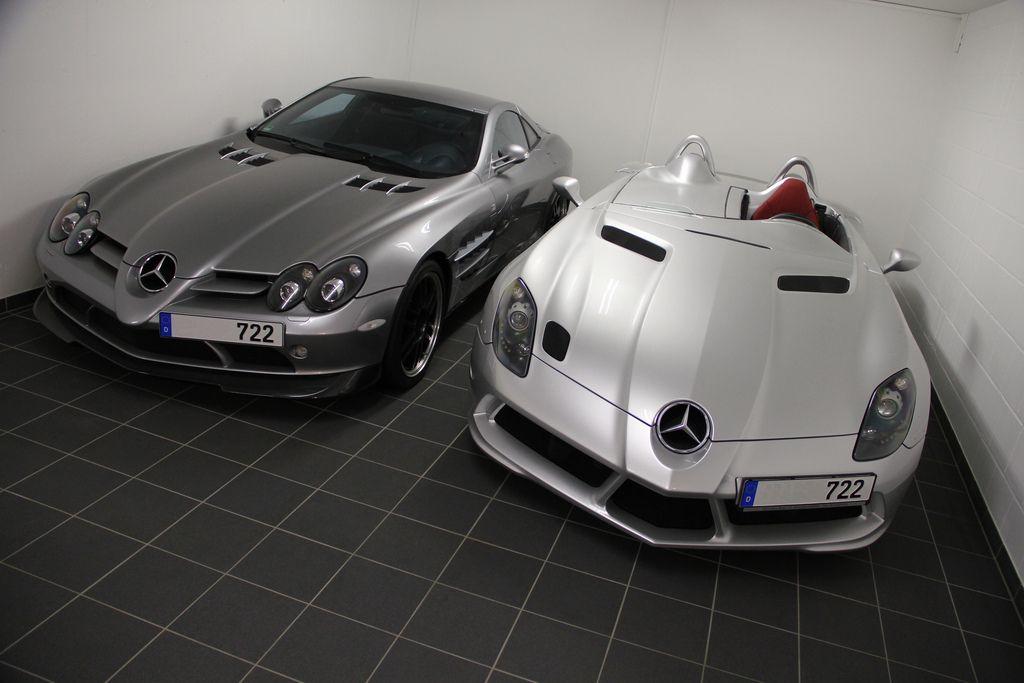 Mercedes Mclaren Slr 722 And Stirling Moss Vehicule De Luxe