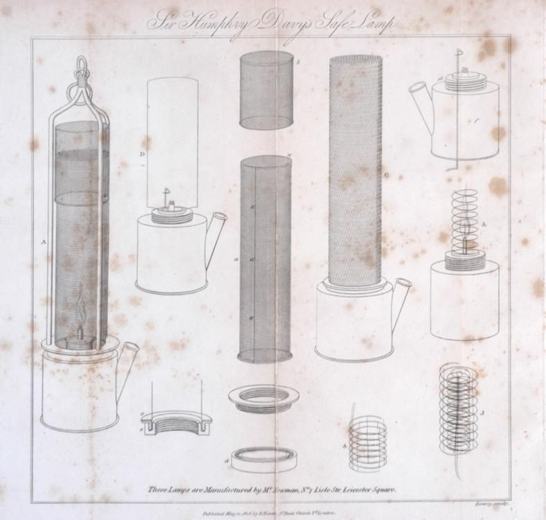From On The Safety Lamp For Coal Miners With Some Researches On Flame 1818 Humphry Davy Coal Miners Coal