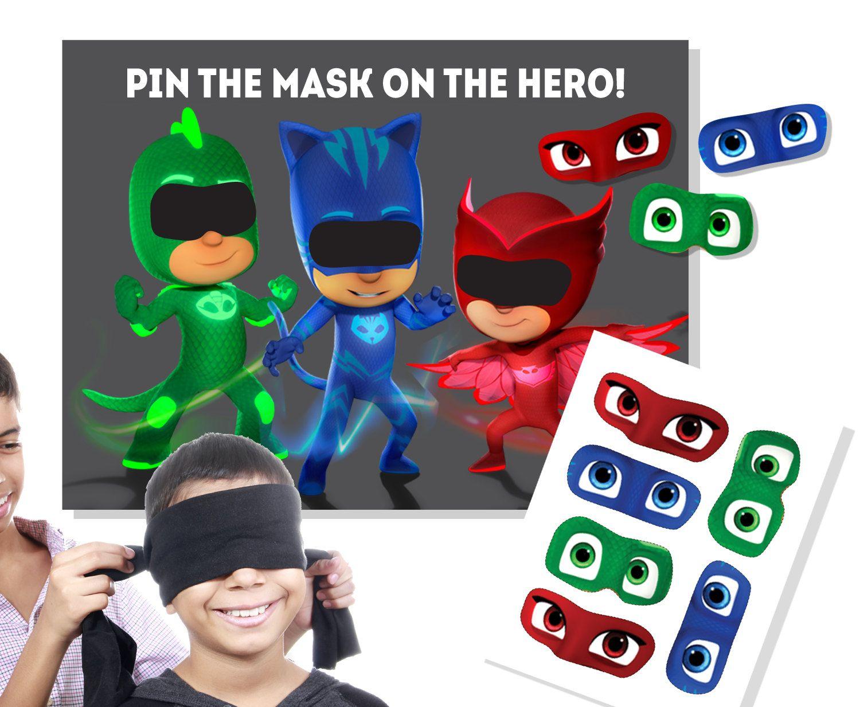 Pin on PJ Masks Birthday Ideas