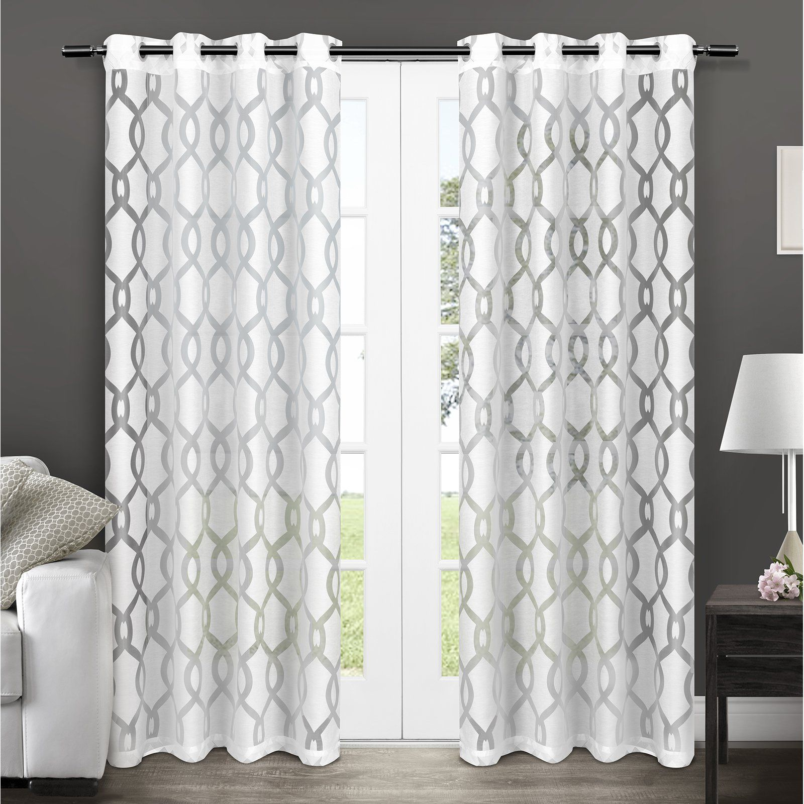 Exclusive Home Rio Grommet Curtain Panel Pair From Hayneedle