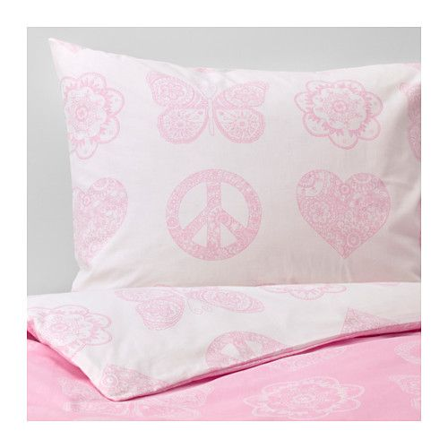 VÄnskaplig Duvet Cover And Pillowcase S Ikea Cotton Is Soft Feels Nice Against Your Child Apos Skin