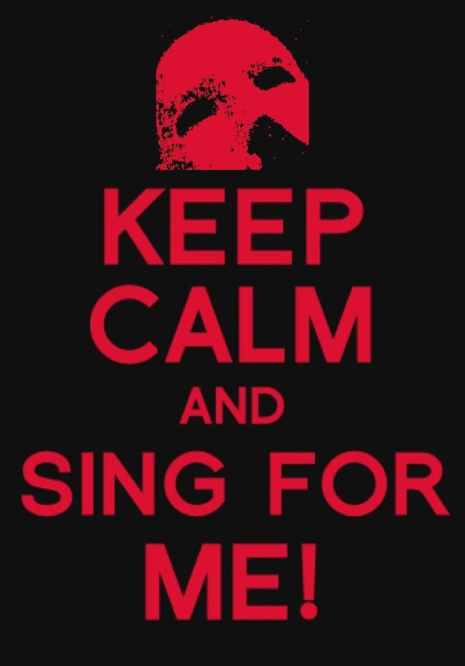 Sing for Me! The Phantom of the Opera
