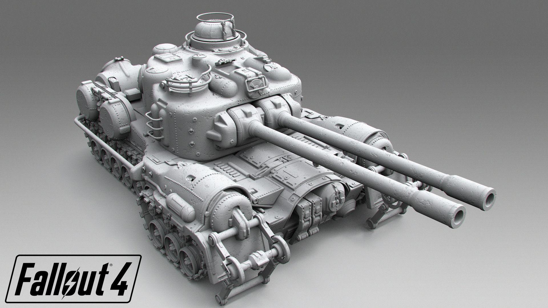 ArtStation Fallout 4 Tank Tor Frick cool stuff