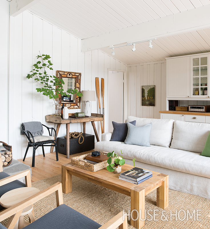 Escape To A Modern Camp-Style Cottage | Budgeting, Living ...