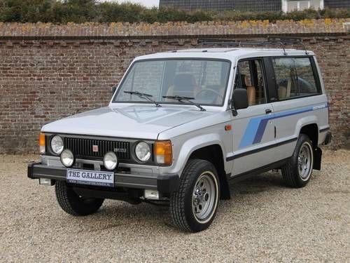Isuzu Trooper 1984 Trooper Car 4x4 Off Road