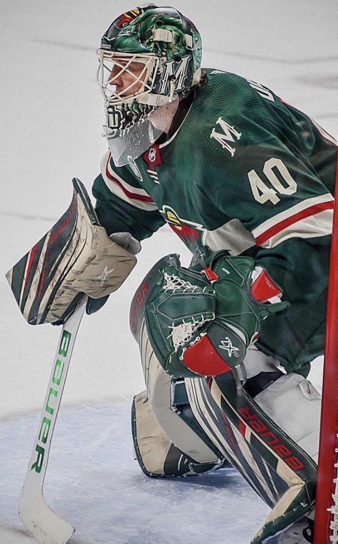 Devan Dubnyk 2019 Gear Wild Hockey Minnesota Wild Goalie Gear