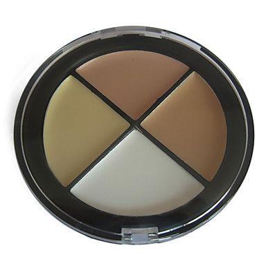 corrector acabado natural paleta de maquillaje n º 2 (4 colores) – USD $ 8.99