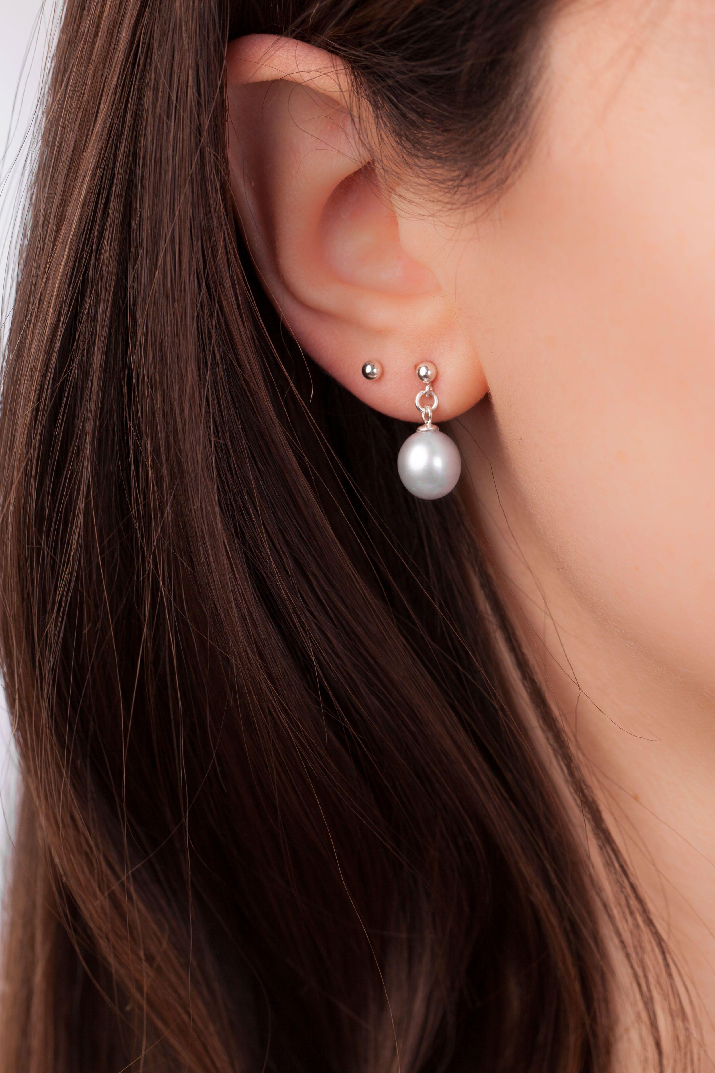 Pearl Earrings Drop