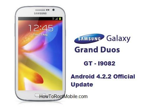 Manually Update Galaxy Grand Duos I9082 to Official ...