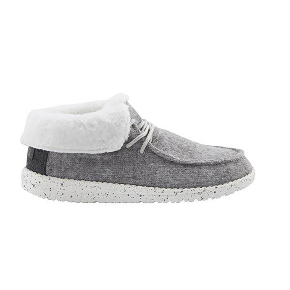Hey Dude Shoes Women's Britt Lined Fold Down Shoes in