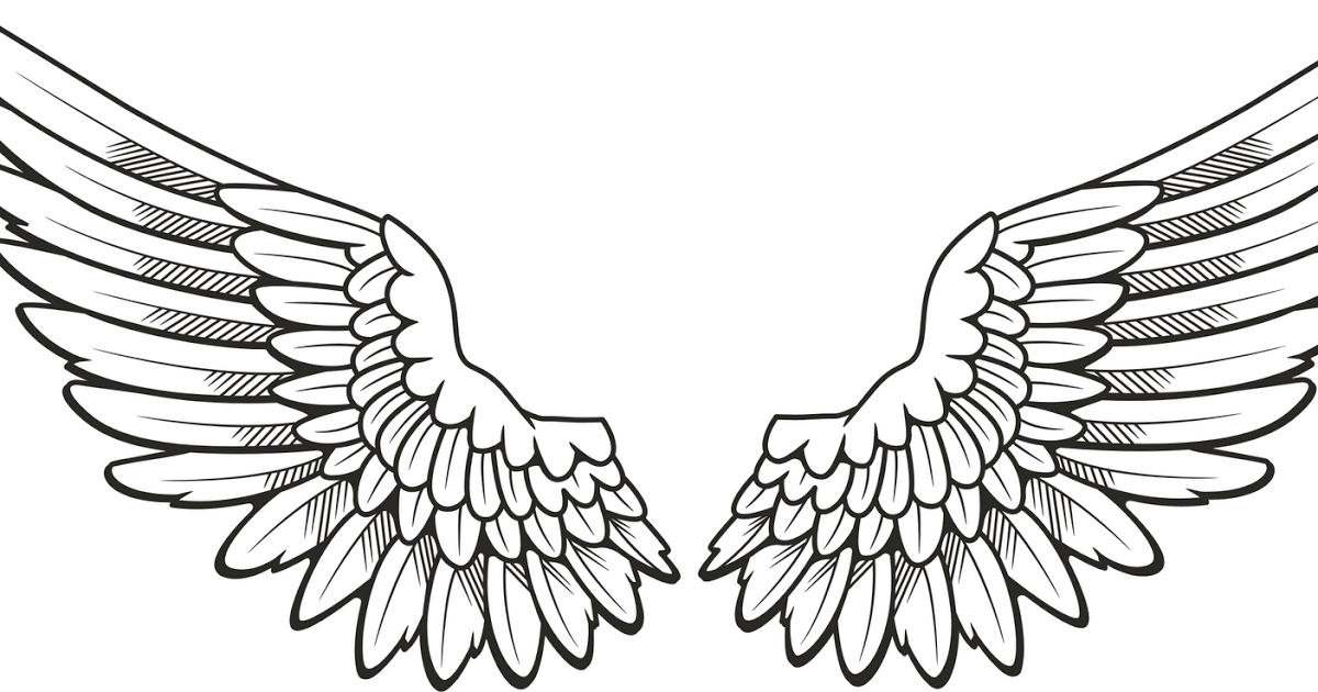 Wing 2 Angel Wings Clip Art Wings Tattoo Wing Neck Tattoo