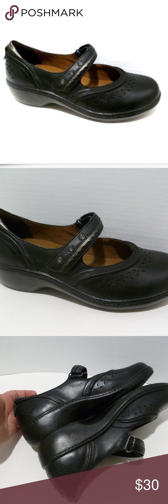 64b361755cf63 Aravon New Balance Black Mary Jane Shoe Aravon by New Balance ...