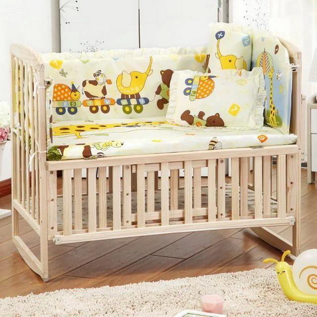 Baby Crib Bedding Newborn Crib Bumper Set Baby Cot Sets Baby