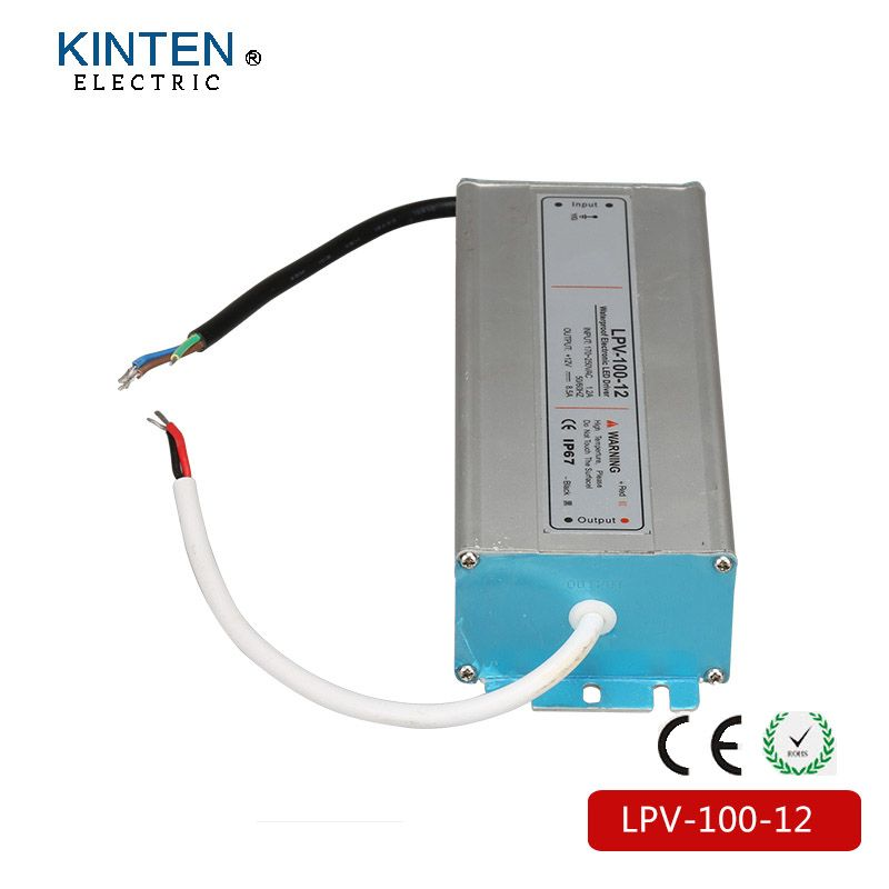 Lpv 100 12 Ip67 Constant Voltage Ac To Dc 100w Waterproof Driver 12v Constant Voltage Led Power Supply 12v 100w Led Power Supply Waterproof Led Led Drivers