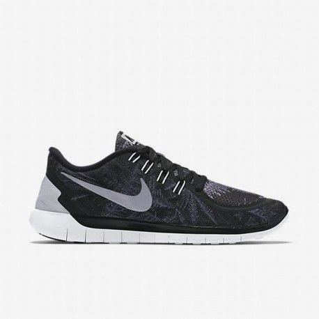 nike free running shoes 5.0,Nike Men's Black/Pure Platinum/Reflect Silver  Free 5.0 Solstice Running Shoe