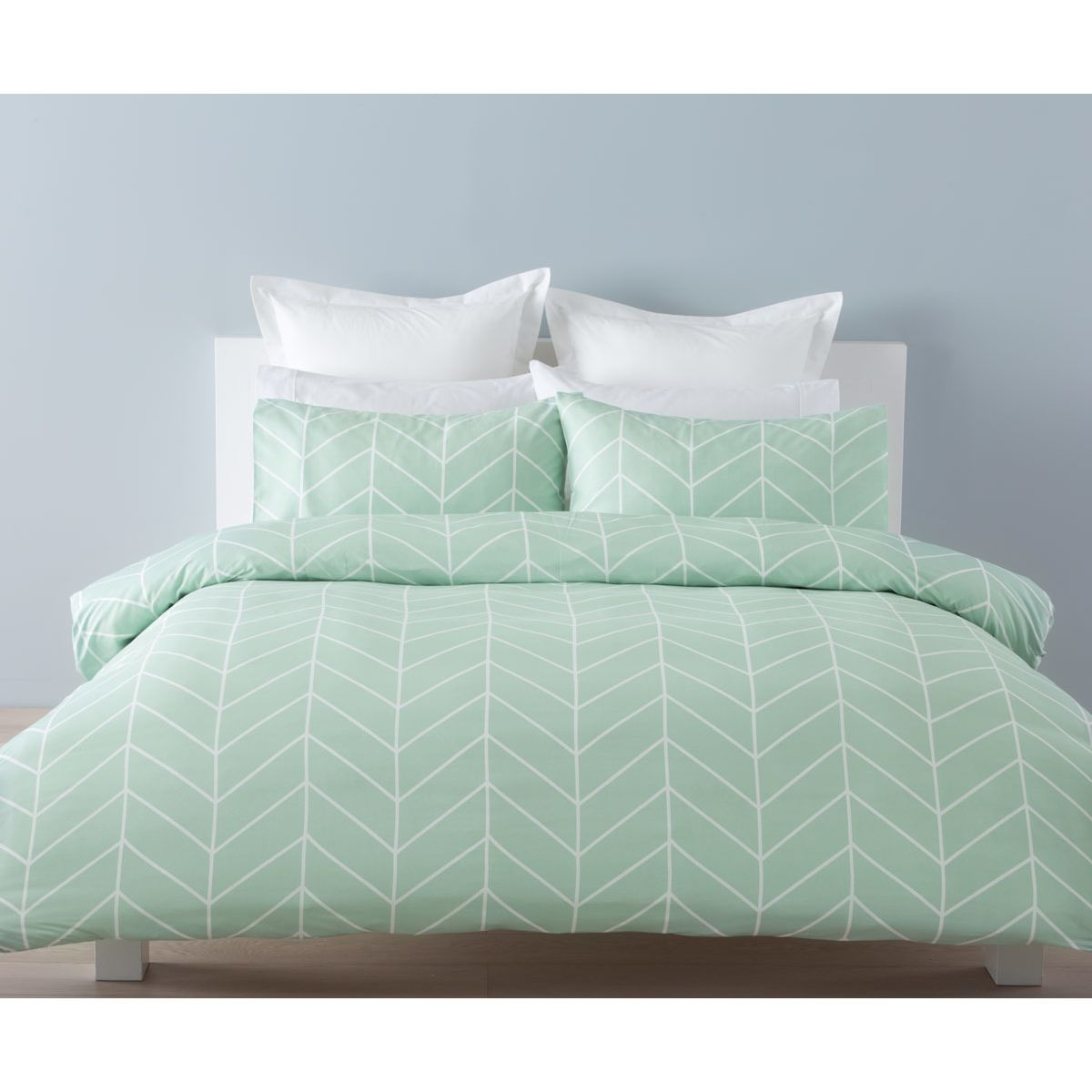 Robin Quilt Cover Set Double Bed Kmart Bedding Sets Mint