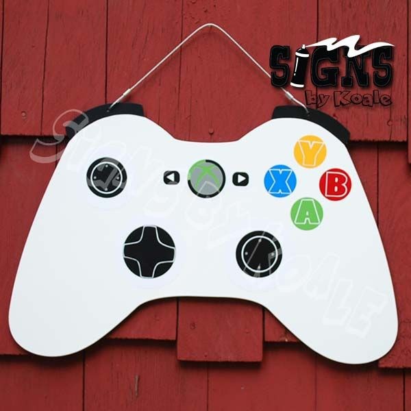 XBox wall hanging by croppixie - Cards and Paper Crafts at Splitcoaststampers