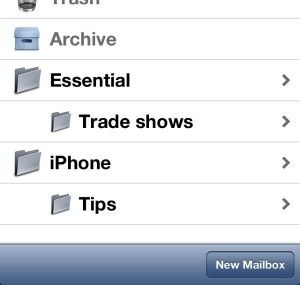 Email folders how to add them directly on your iPhone or