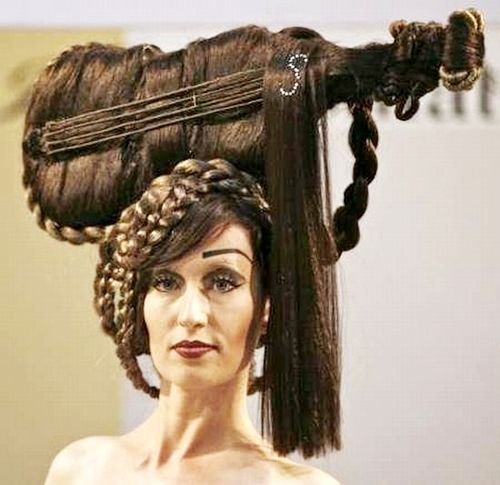 The coolest #hair ever! #guitar #hairstyle lol coolbuzz.org | Pwned ...