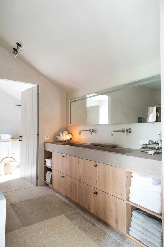 Mooi rustige landelijke badkamer | Badkamer | Pinterest | Badezimmer ...