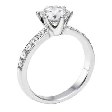 https://ariani-shop.com/igi-certified-14k-white-gold-round-cut-diamond-engagement-ring-073-cttw-e-color-si1-clarity IGI Certified 14k white-gold Round Cut Diamond Engagement Ring (0.73 cttw, E Color, SI1 Clarity)