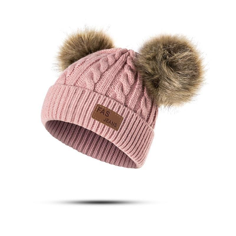 02b322f72b9 MOLIXINYU Baby Boys Girls Pom Poms Hat Children Winter Hat For Girls  Knitted Beanies Thick Baby