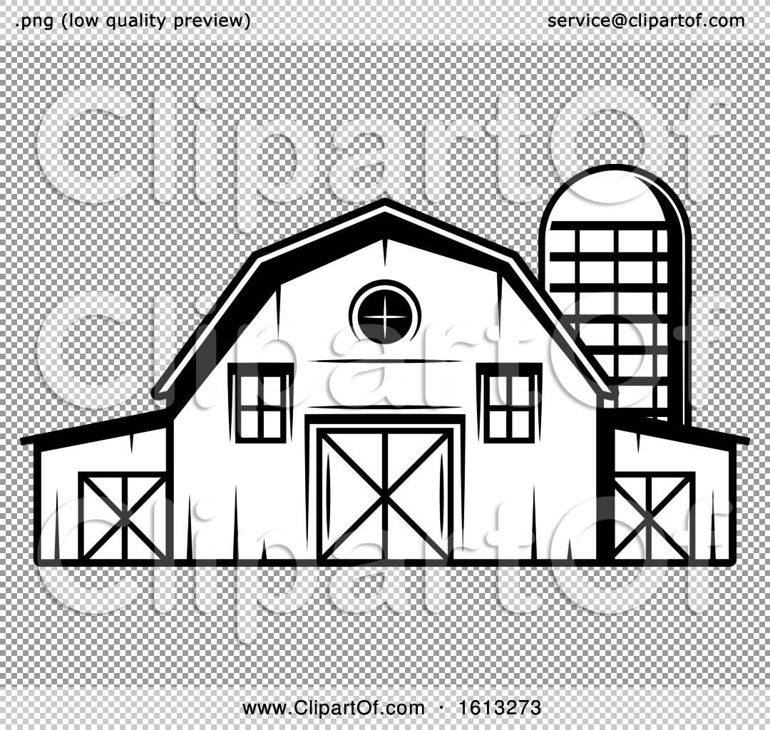 Barn Clipart Black And White Clipart Black And White Farm Shed Black House