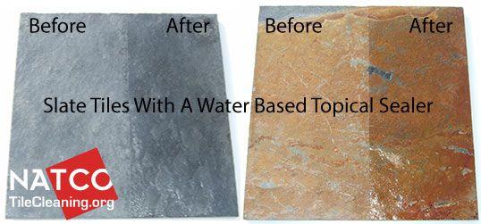 Water Based Topical Sealer For Slate Home How To Pinterest - Best sealer for marble floor tile