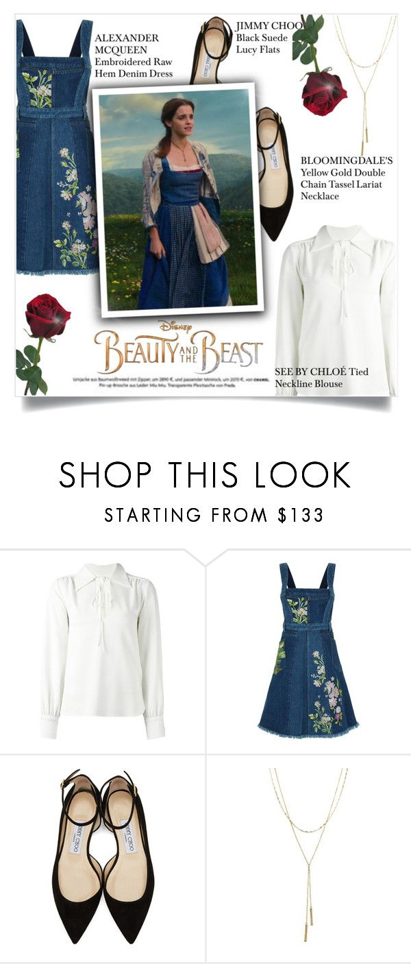 Beauty And The Beast By Mila Me Liked On Polyvore Featuring See