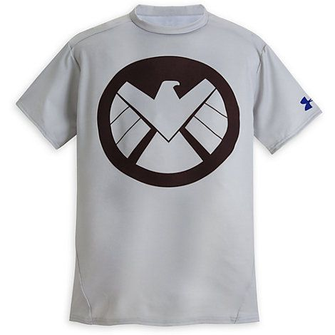 reunirse Votación sombra  S.H.I.E.L.D. Eagle Icon Compression Tee for Men by Under Armour | T shirt  time, Mens outfits, Mens tops