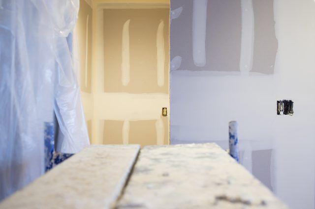 Tips On Painting New Drywall Textured Walls Drywall Mud Drywall