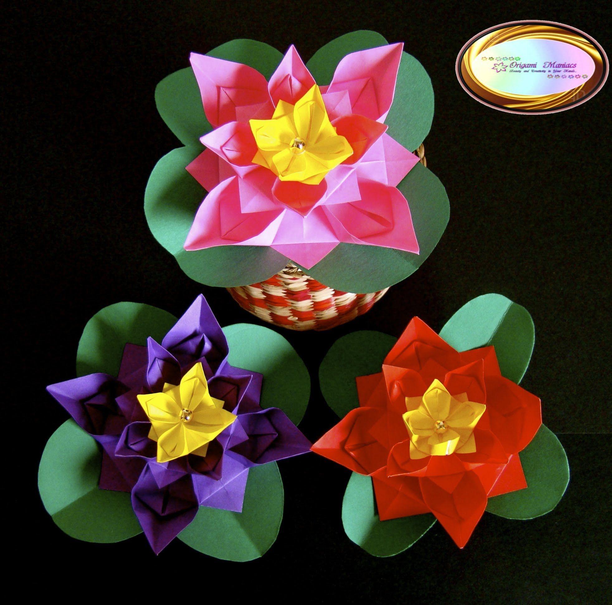 Origami maniacs 122 cute origami flower origami pinterest origami maniacs 122 cute origami flower mightylinksfo