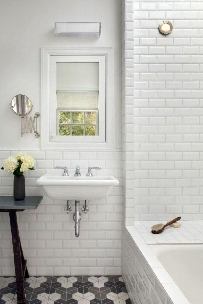 Badezimmerfliesen im Blickfang - 100 Ideen für Designs und Muster ...
